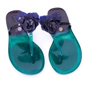 Tory Burch Jelly Thong Sandals | Size 8